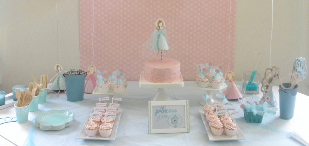 Parties: {Aqua and Pink Princess Party}