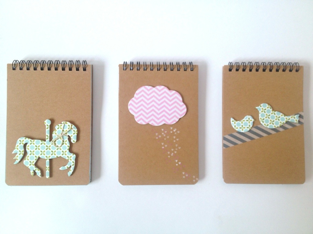 Quick craft {little notebooks}