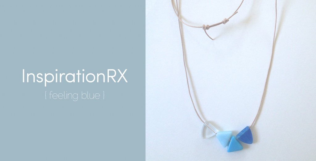 Crafts: InspirationRX, Blue Jewelry
