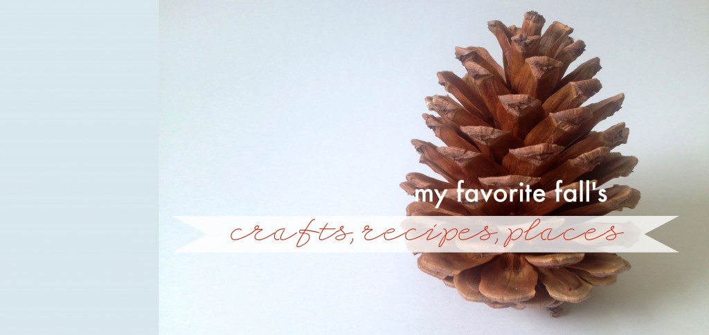 Inspiration: {What is your favorite Fall craft or…?}