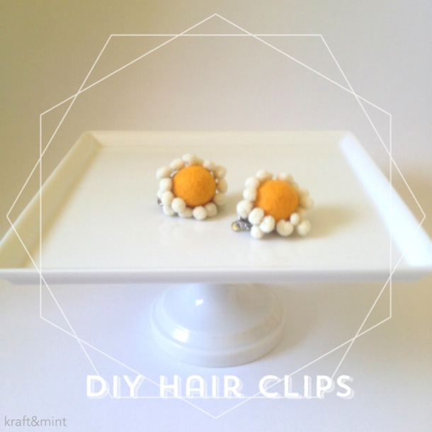 Quick Craft: {DIY Hair Clips}