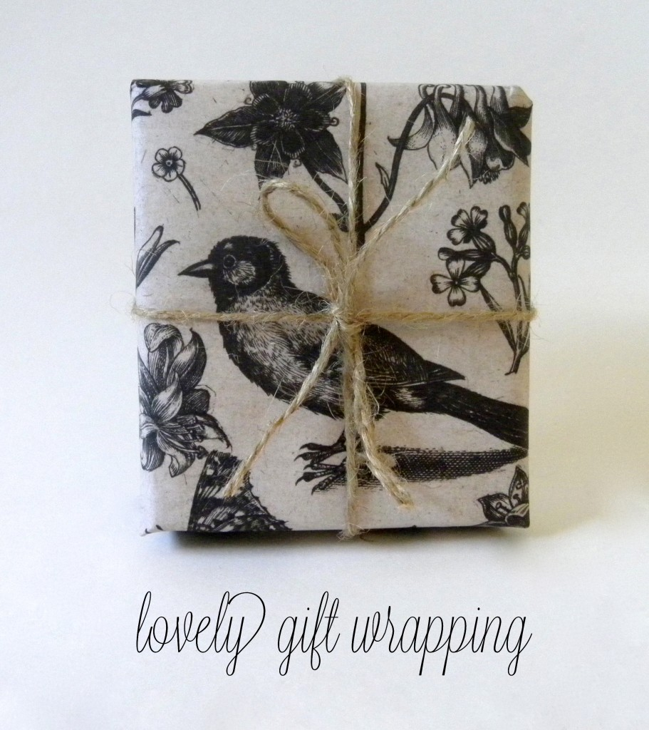 Inspiration: Lovely Gift Wrapping Paper