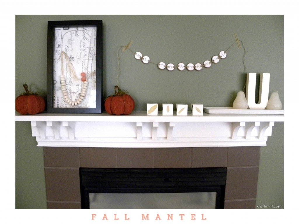 Inspiration: {Fall Mantle}