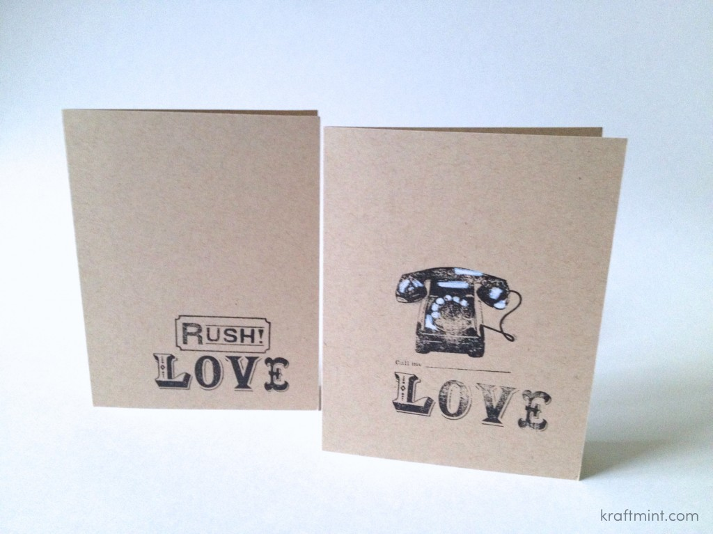 Stationery: {Cards for my future shop}