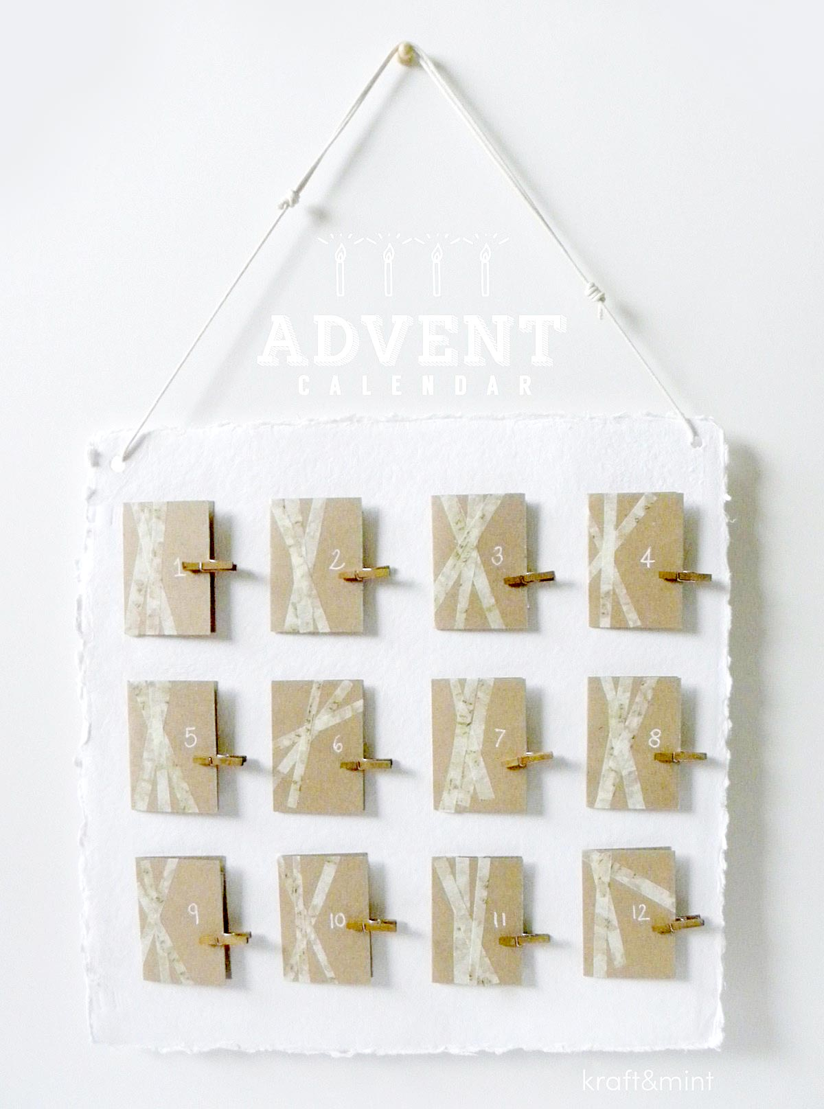 Crafts: Advent Calendar Made Simple