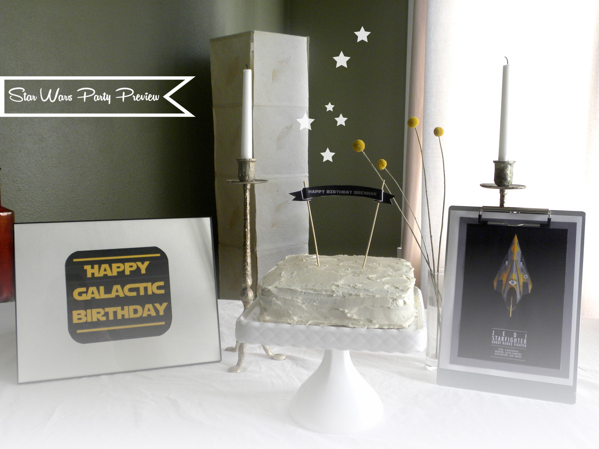 kraft&mint Star Wars Party preview