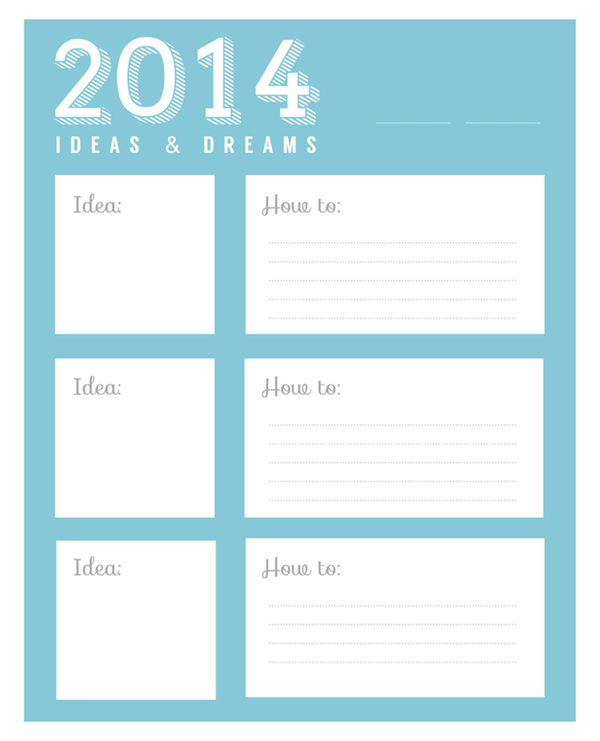 kraft&mint planner worksheet