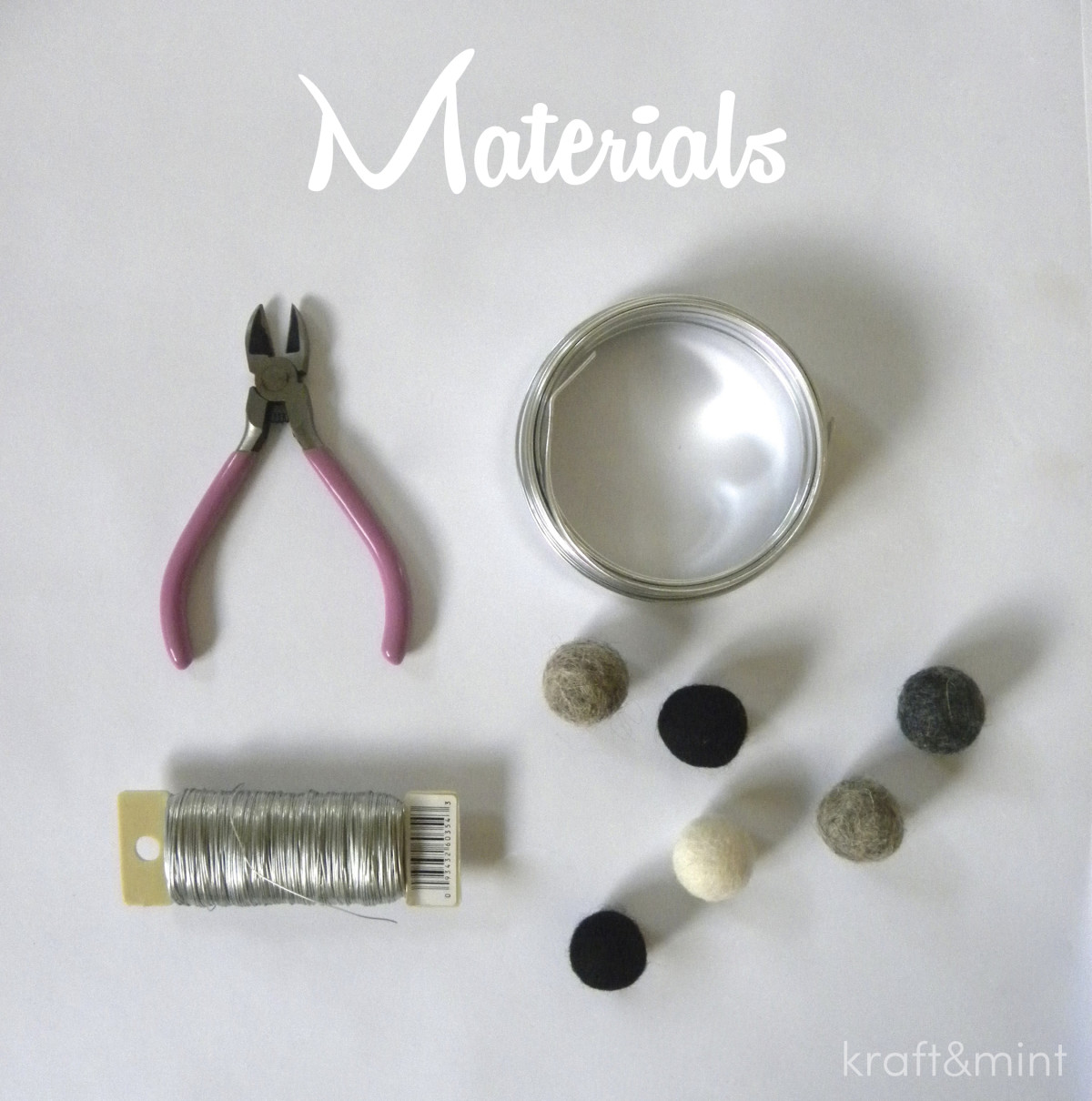 kraftmint_xmasornament_materials
