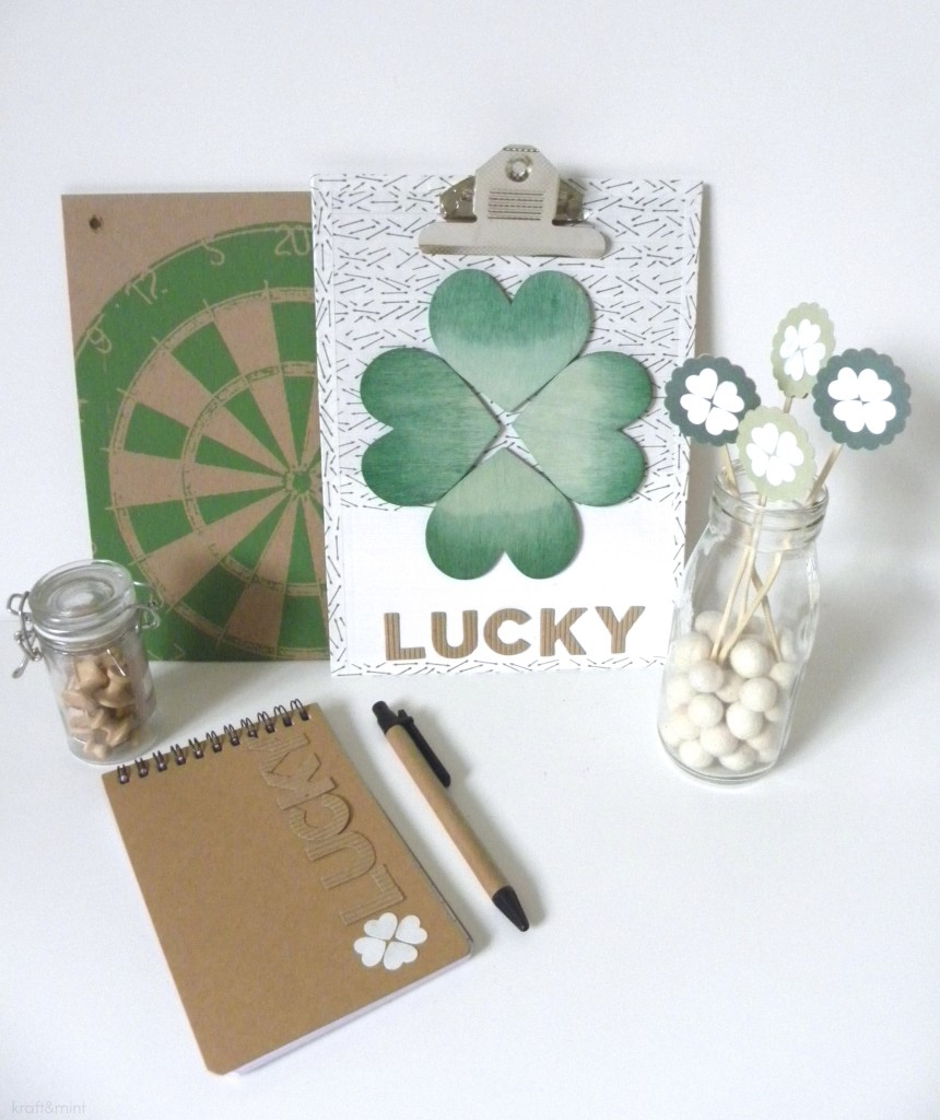 Make Modern St Patrick's Day Crafts