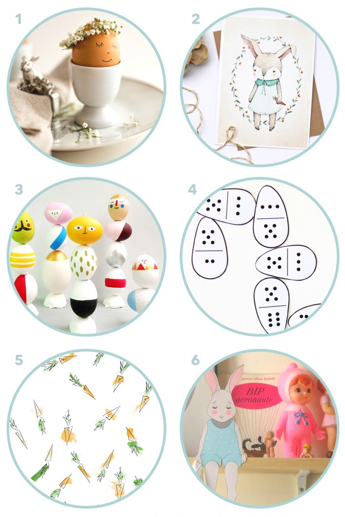 6 Unique Easter Crafts & Printables