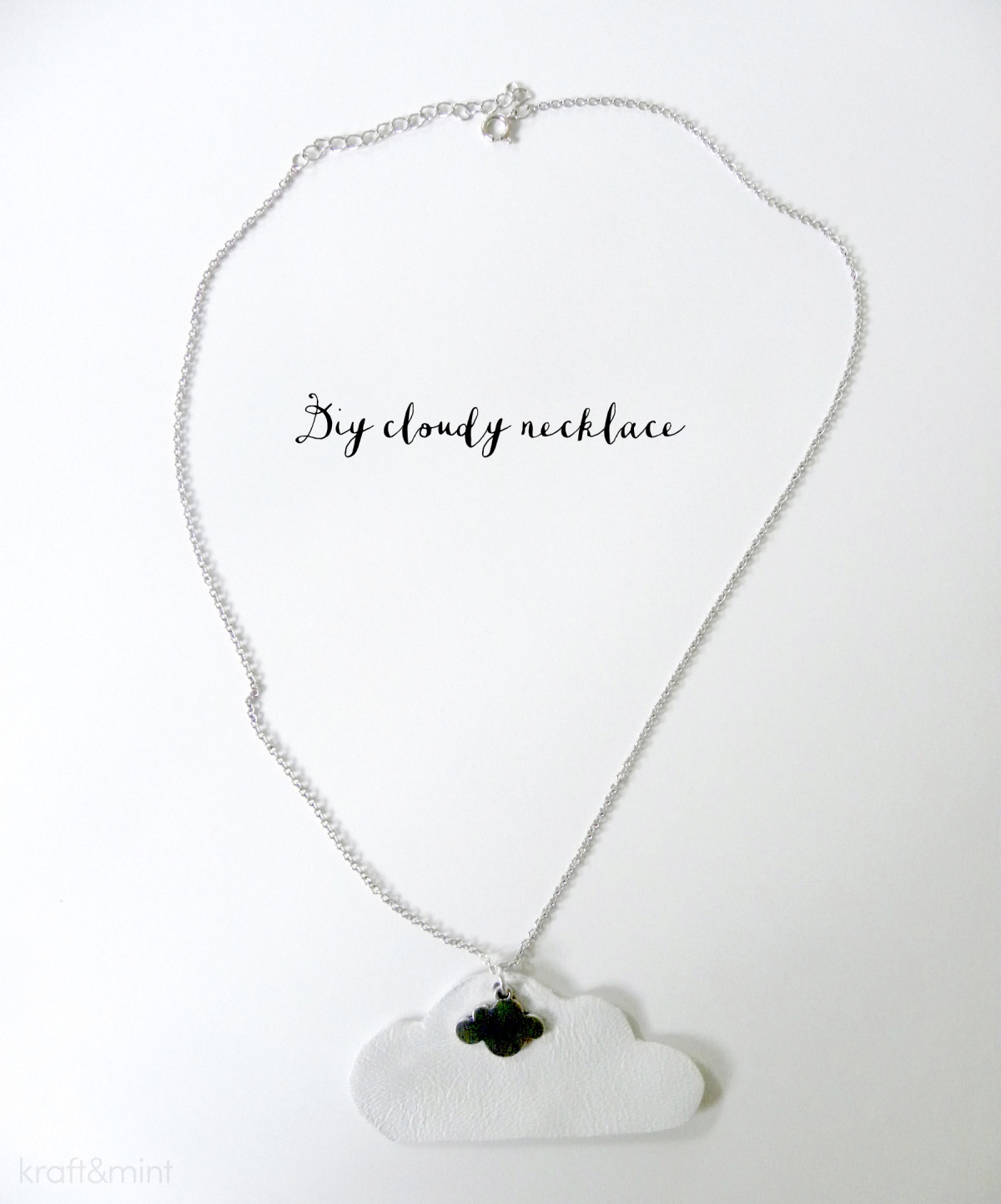 kraft&mint DIY Cloudy Necklace