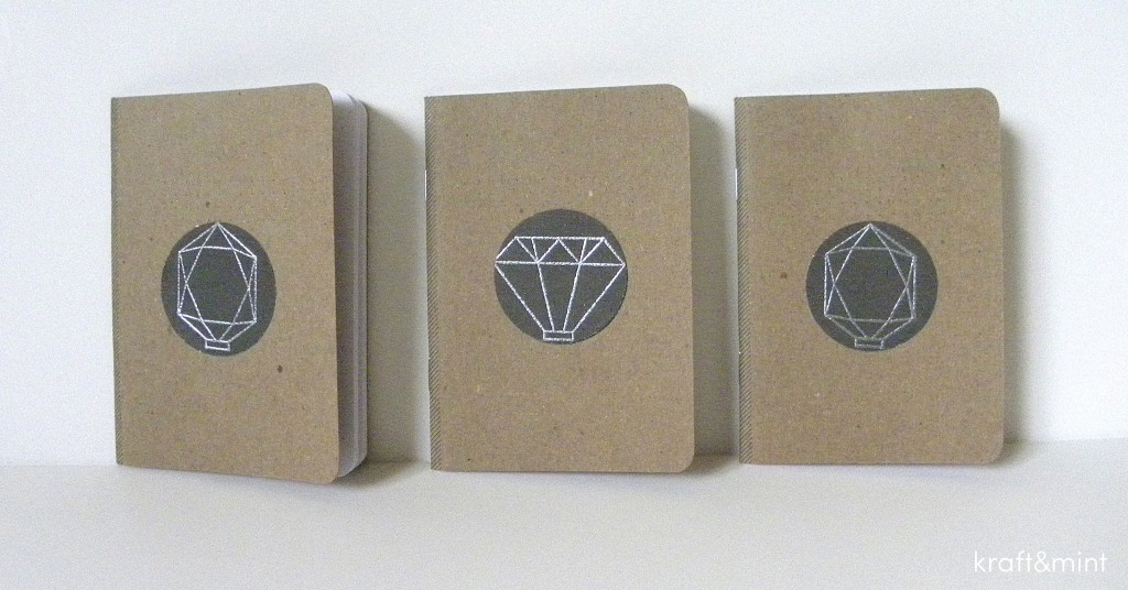 Quick Craft: Mini Geometric Notebooks