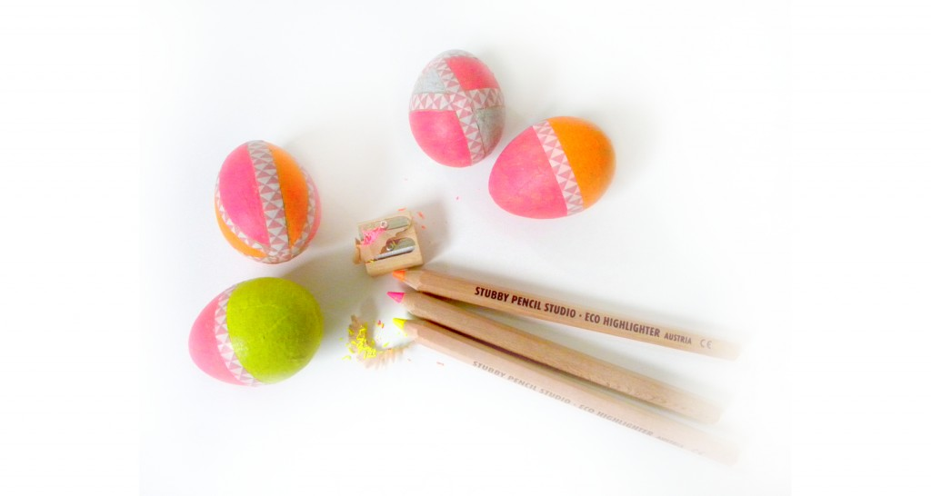 Eco Crafts: Make Neon Easter Eggs