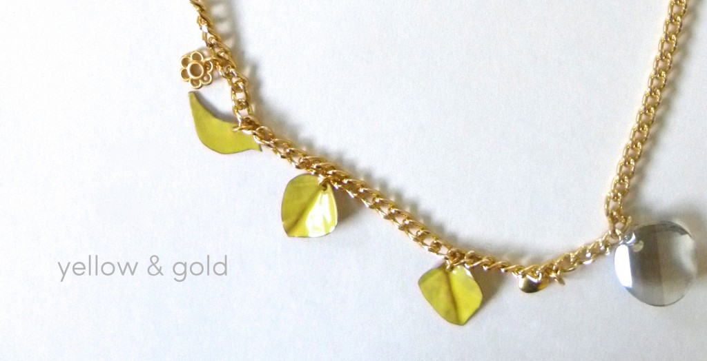 DIY Yellow Gold Necklace