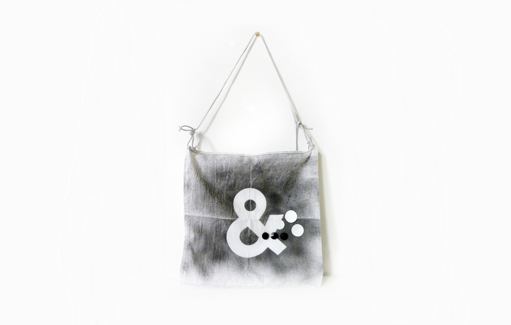 From Pillow Cover to Modern Ampersand Handbag