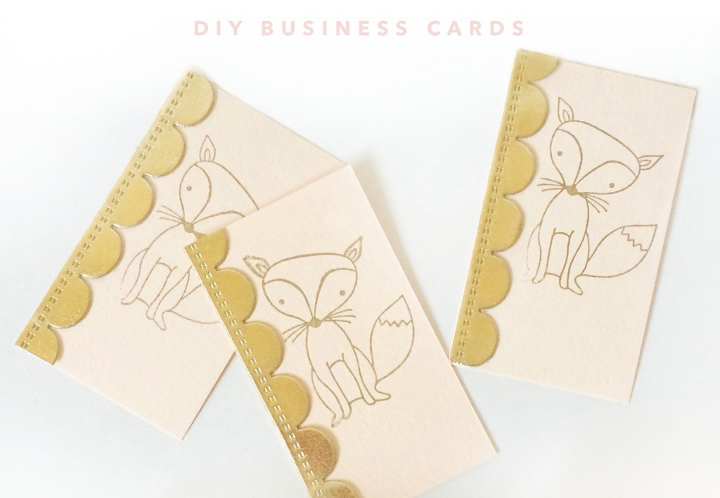 Handcraft business cards that will stand out