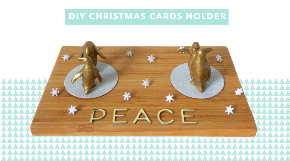 Make A Christmas Card Holder {Part One}