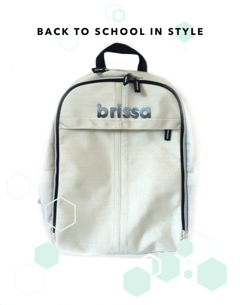 kraft&mint Go back to school in style with a personalized backpack