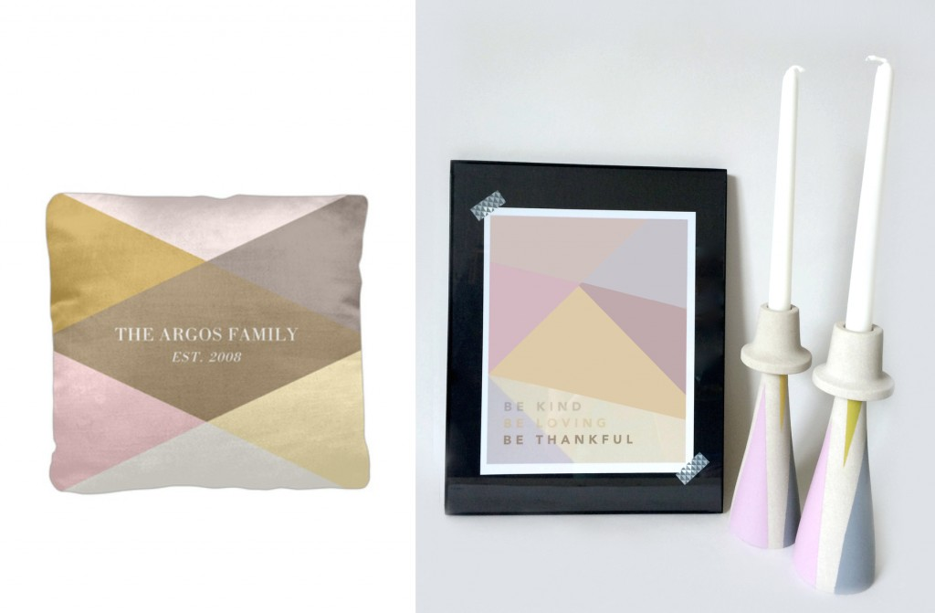 Inspired by tinyprints new pillows collection
