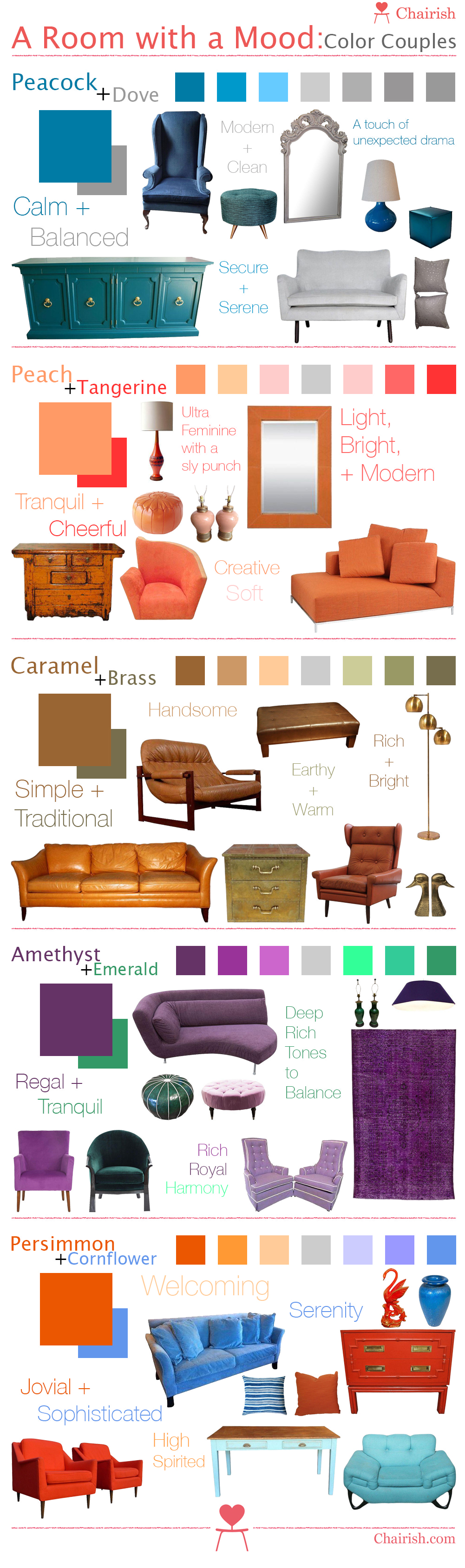 Chairish Colors Infographic