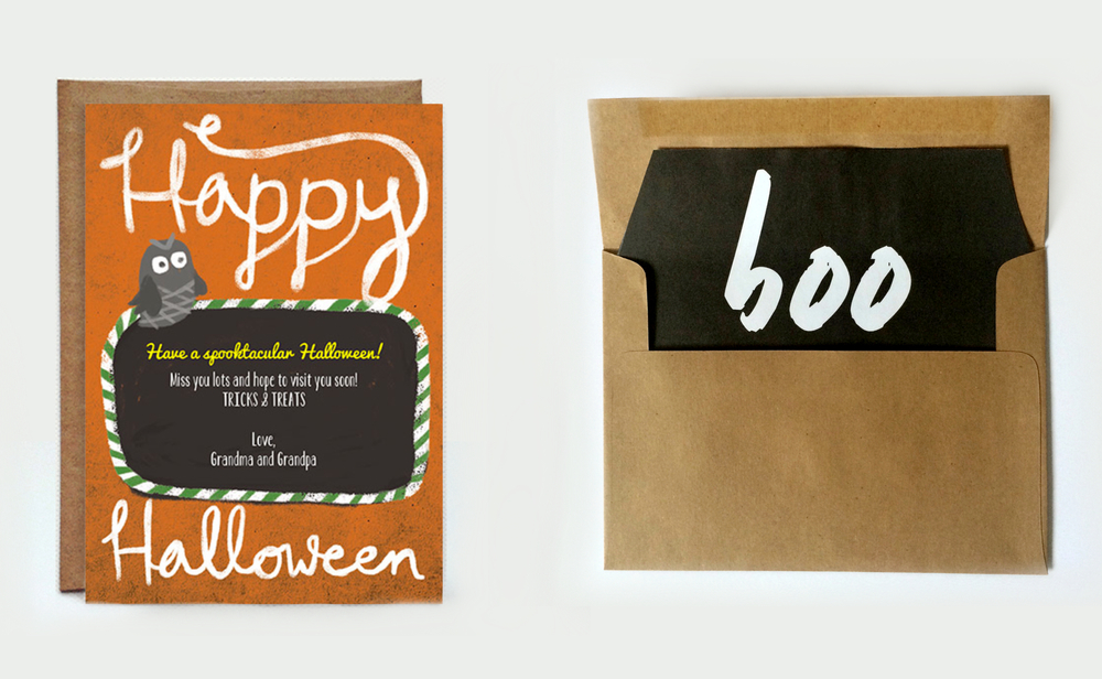 DIY Halloween Envelope Liners { Top 5 Halloween Posts }