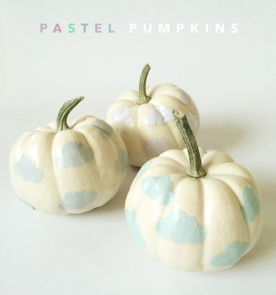 DIY Pastel Pumpkins Tutorial