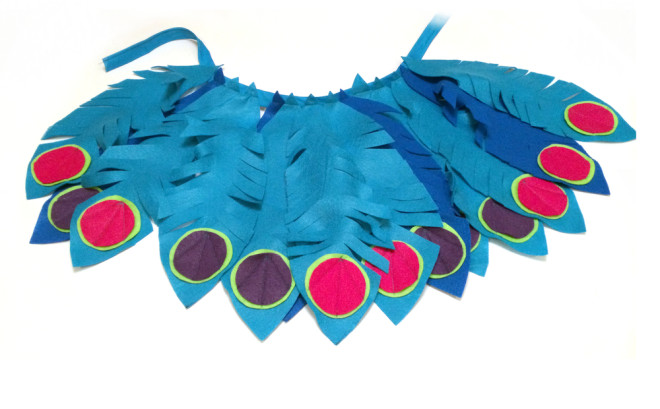 DIY Peacock Costume Guest Post Tutorial