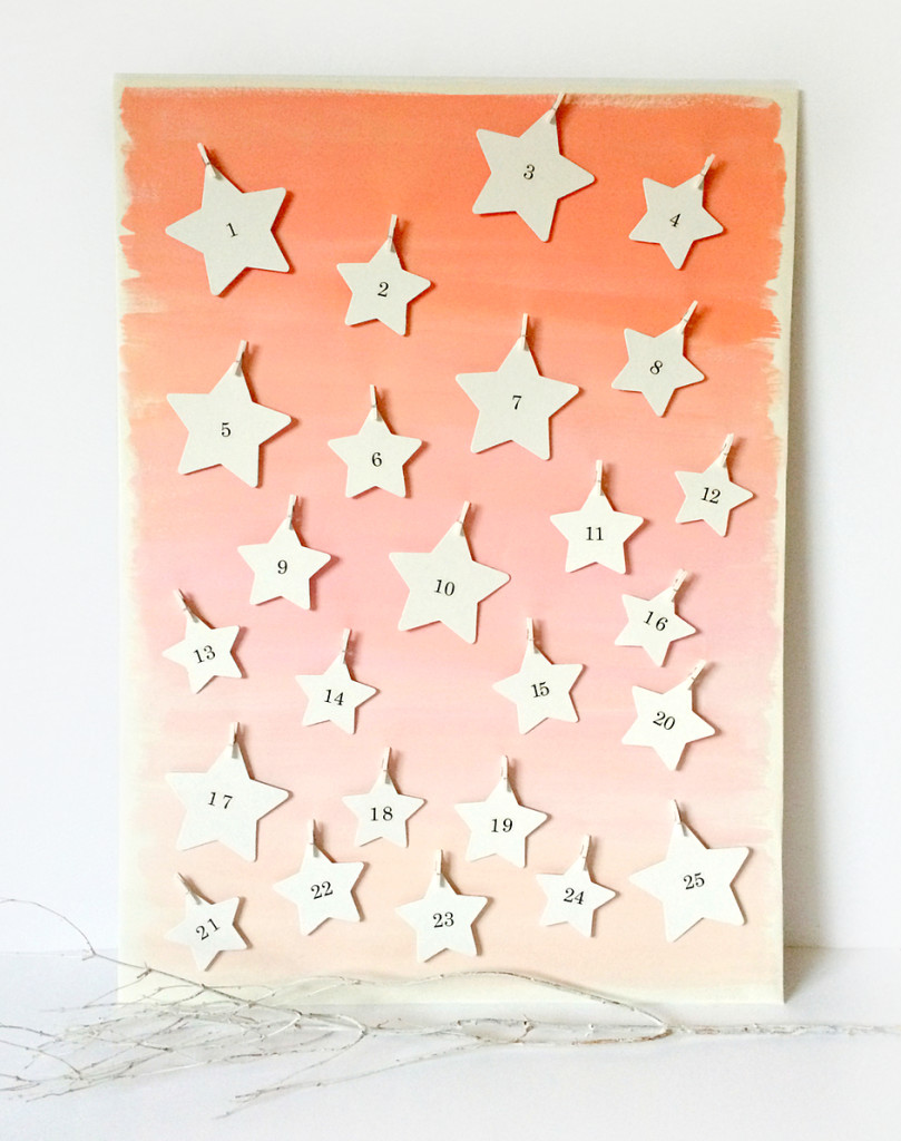 Make a Starry Advent Calendar
