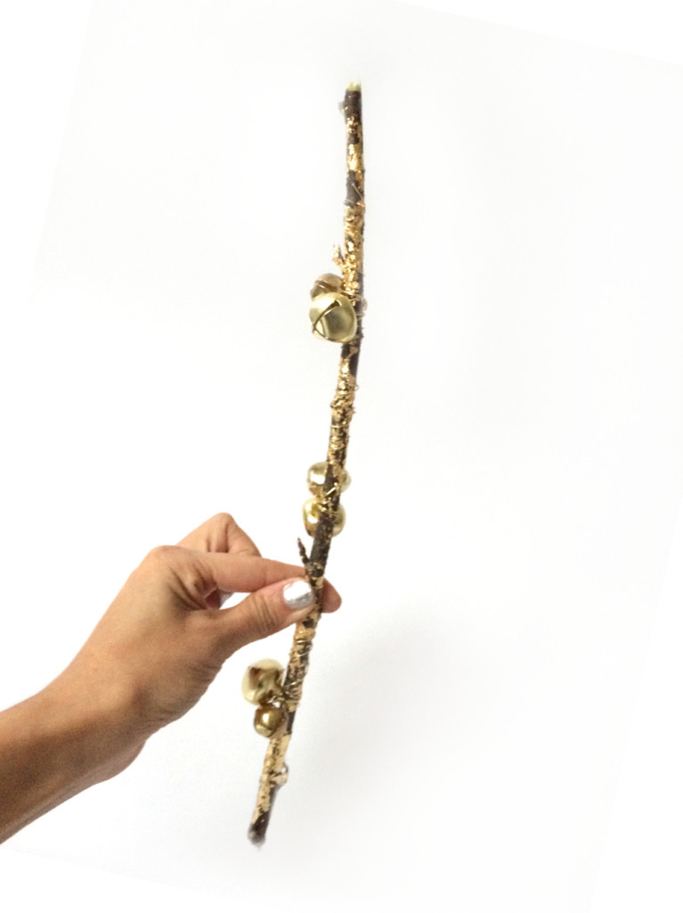 DIY Gold Branch with Anthropologie by kraft&mint