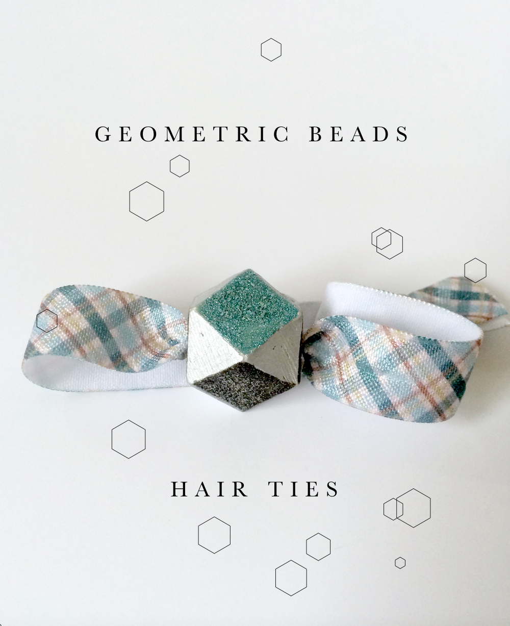 Geo Beads Hair Ties Gifts for the holidays