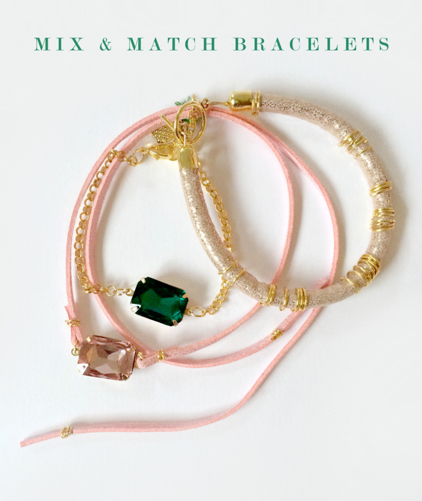 DIY Mix and Match Bracelets with Beadmixer by kraft&mint