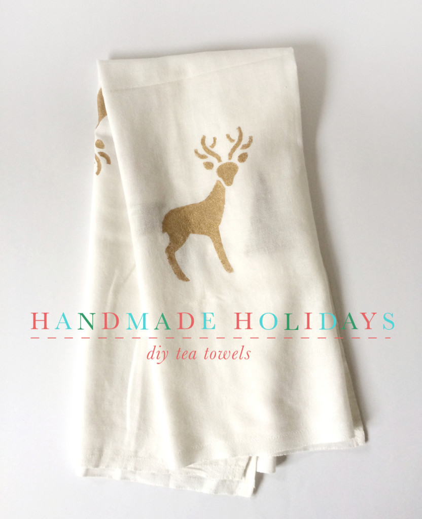 Design Beautiful Tea Towels for Holiday Gifts