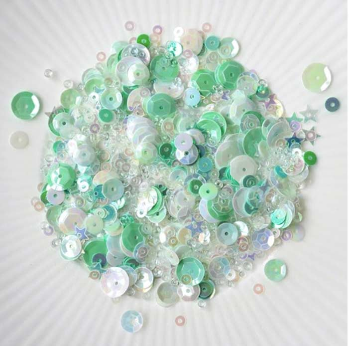 Mint Sequins found at Simon Says Stamp