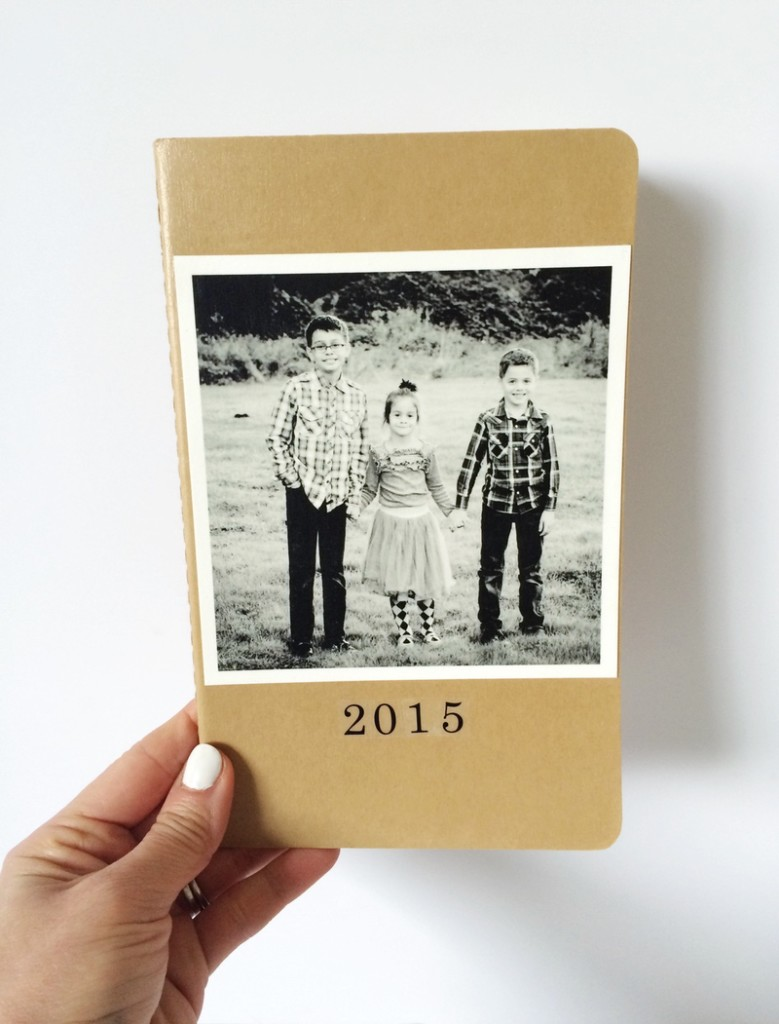 Personalized DIY moleskine journals