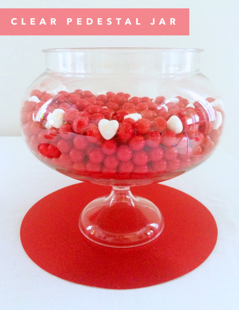 Valentine's Dessert Table with Party Pail by kraft&mint