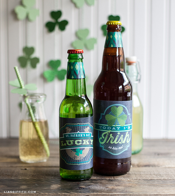 St_Patricks_Day_Labels Lia Griffith