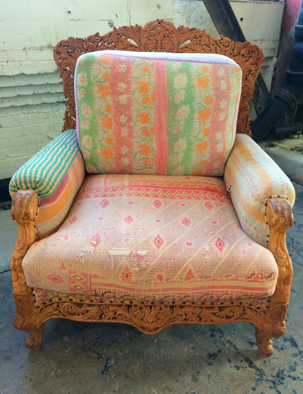 Gorgeous chair from Anthropologie's Lobby
