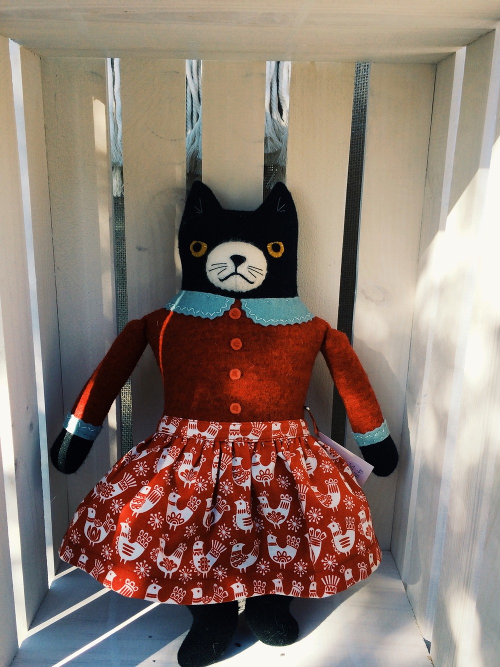 Kitty Doll I bought from Mimi Kirschner Pop up shop