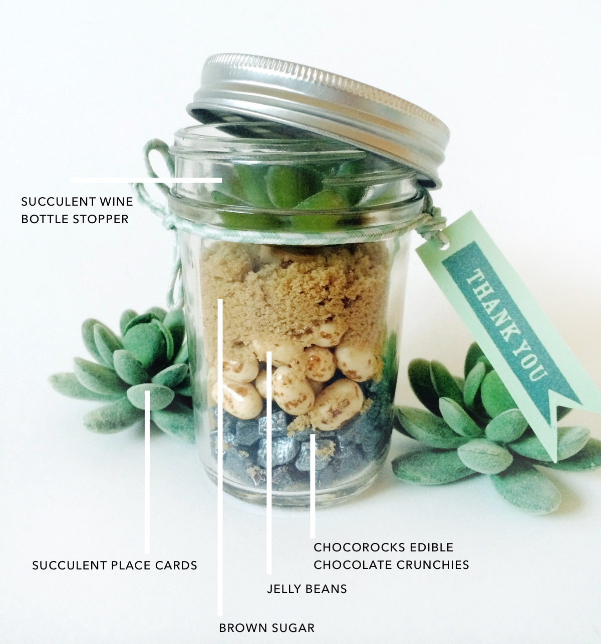 5 Mason Jar Favors for Any Party by kraft&mint