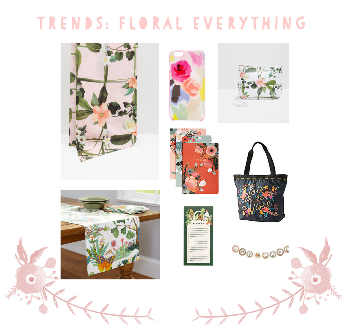 Crazy for this floral trend