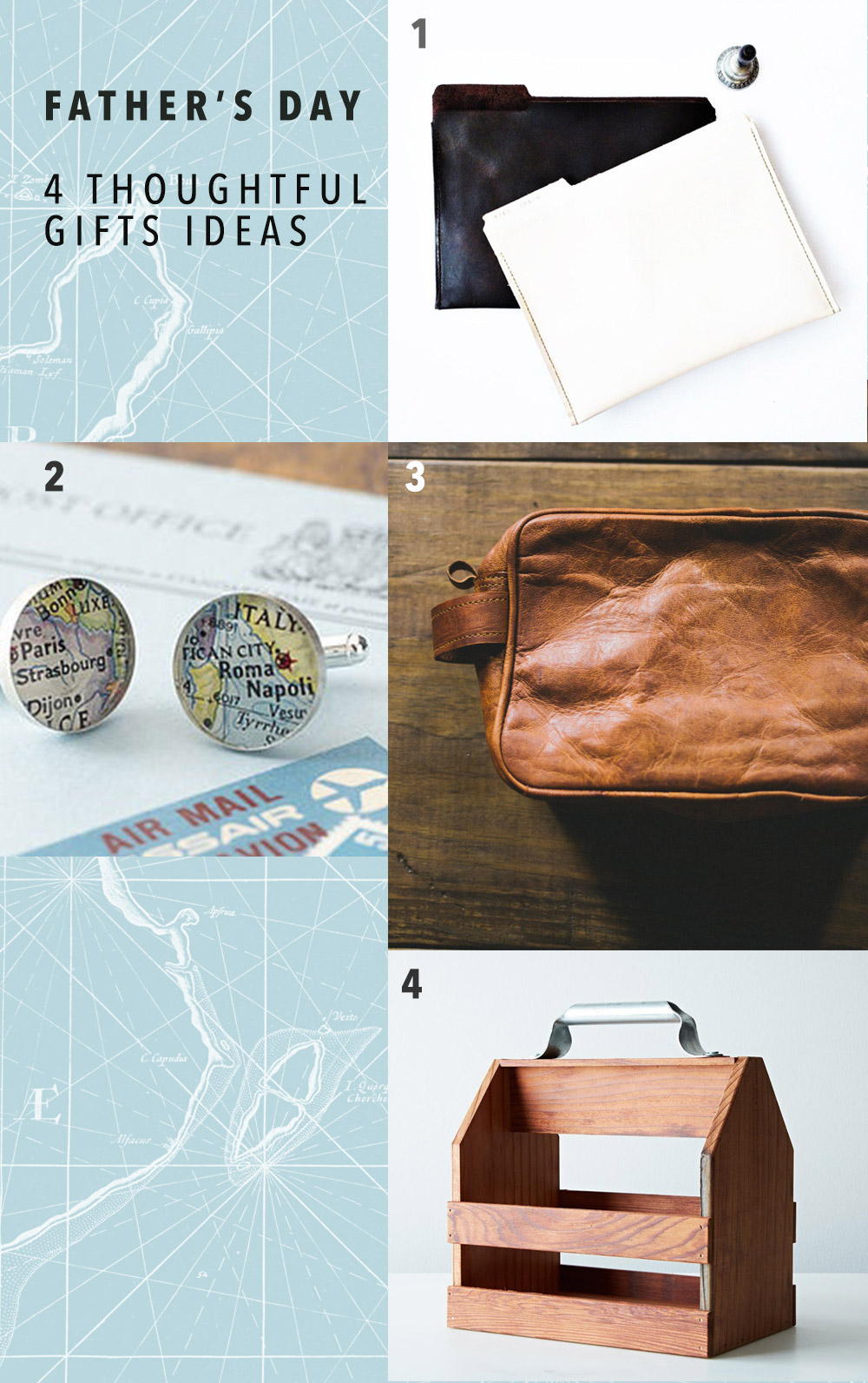Father's Day 4 thoughtful gift ideas by kraft&mint