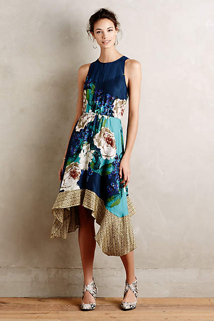 Floral dress on sale - anthropologie found at kraft&mint