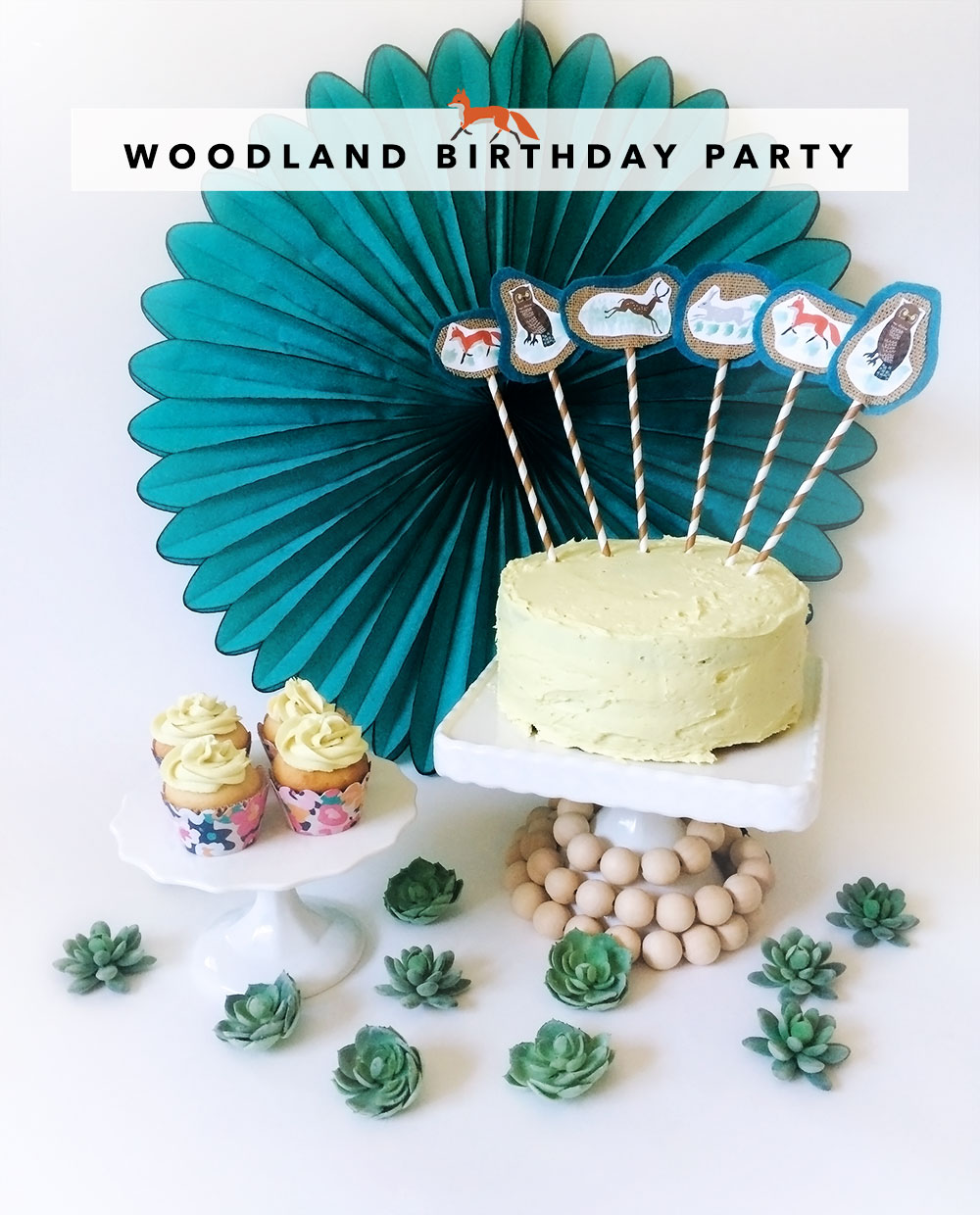 Woodland Party DIY ideas, crafts, tutorial
