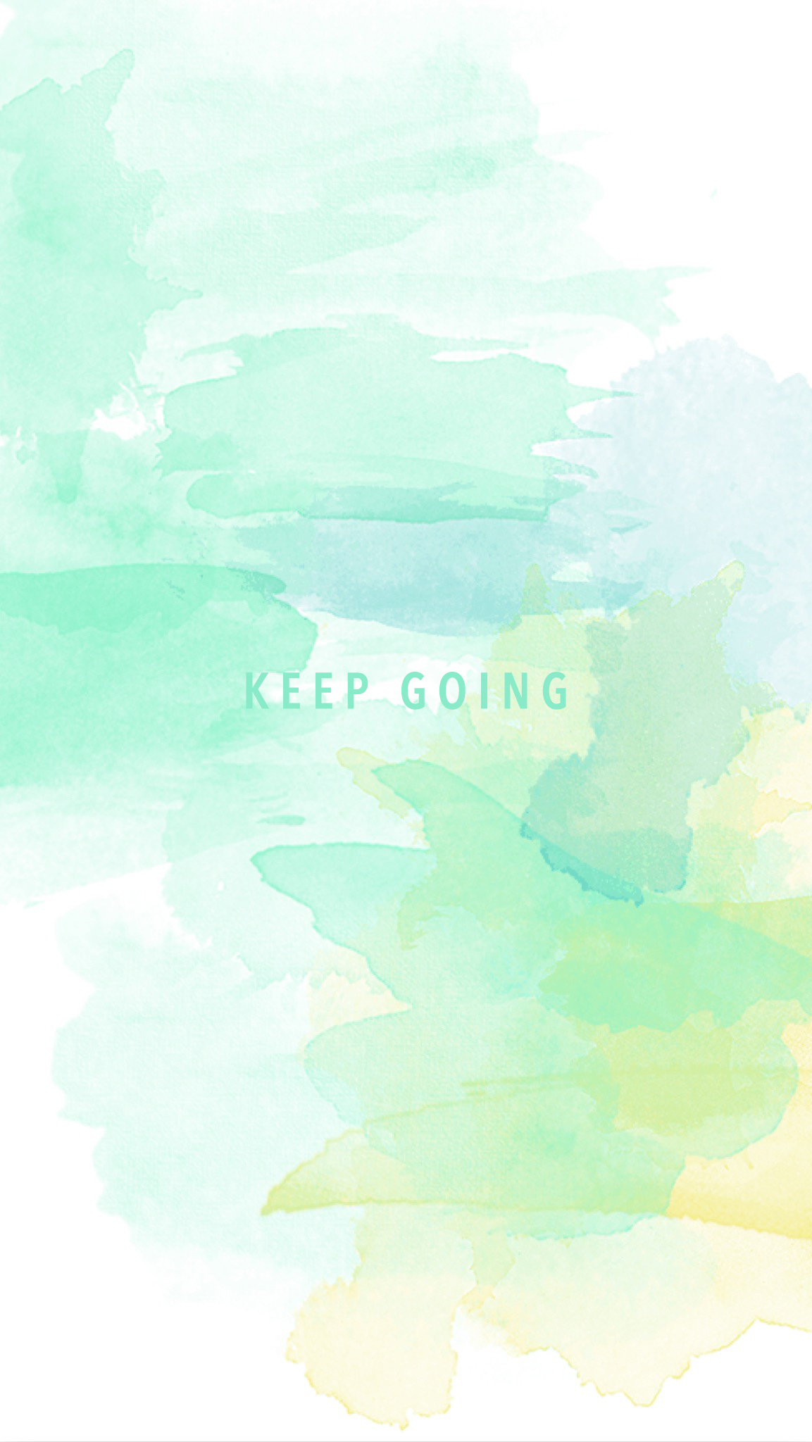 keep going wall paper iphone - kraft&mint