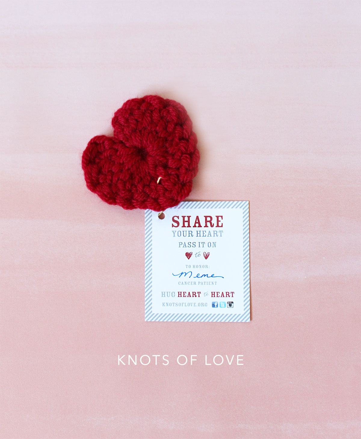 Crocheting & Making a Difference – Knots of Love