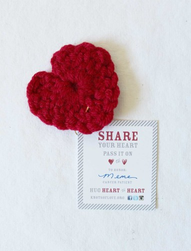Crocheting and making a difference with Knots of Love - by kraft&mint