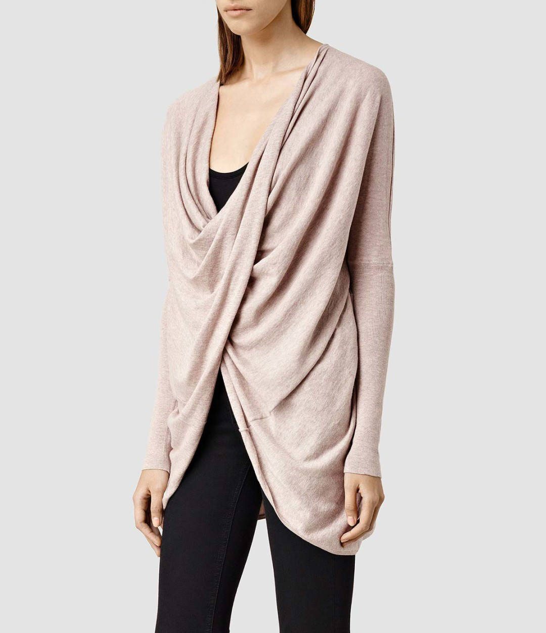 Crushing on blush pink - Itat shrug A;l Saints Usa found at kraft&mint