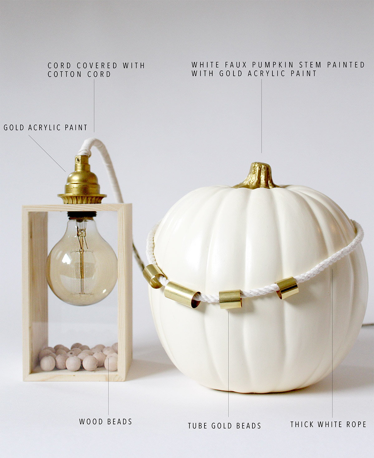 Bring Fall into your home: Fall Vignette with Pottery Barn