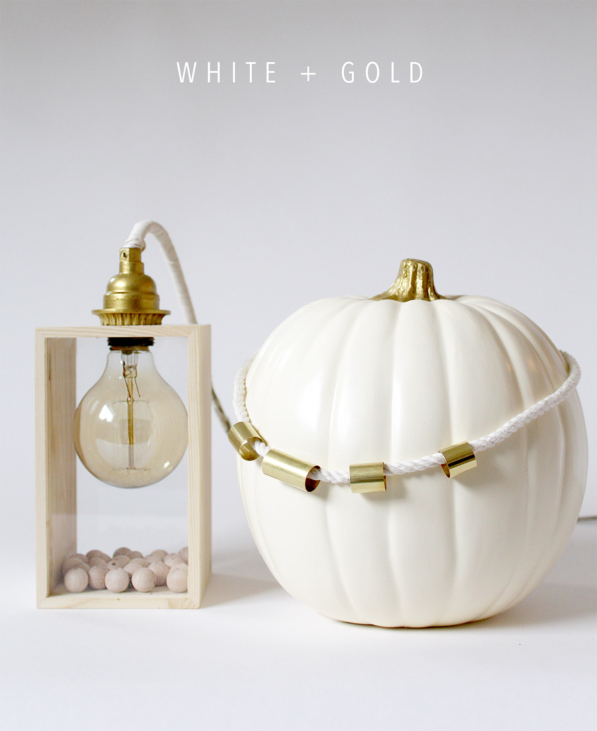 Bring Fall into your home: Fall Vignette DIY