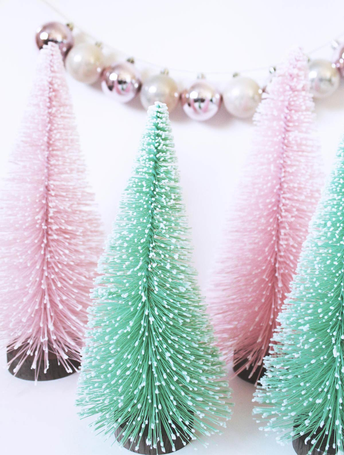 Dreaming of a pastel Christmas